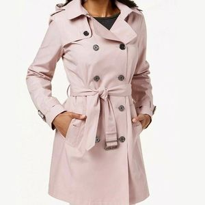 MICHAEL Michael Kors Light Pink Trench Coat XS